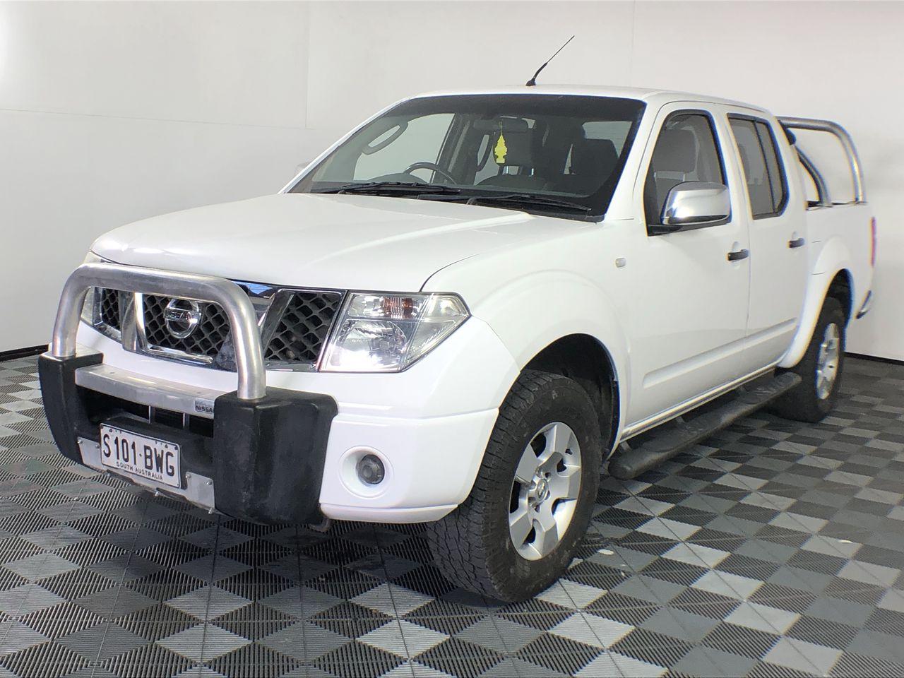 2007 Nissan Navara ST-X (4x4) D40 Turbo Diesel Automatic Dual Cab