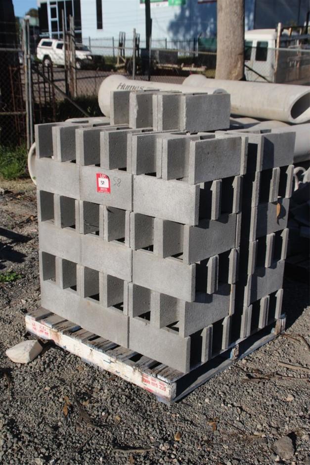 100x Concrete Building Blocks