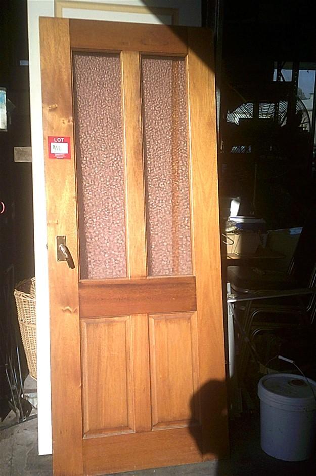 Tinted Glazed Timber Door. 2020mm x 820mm x 35mm
