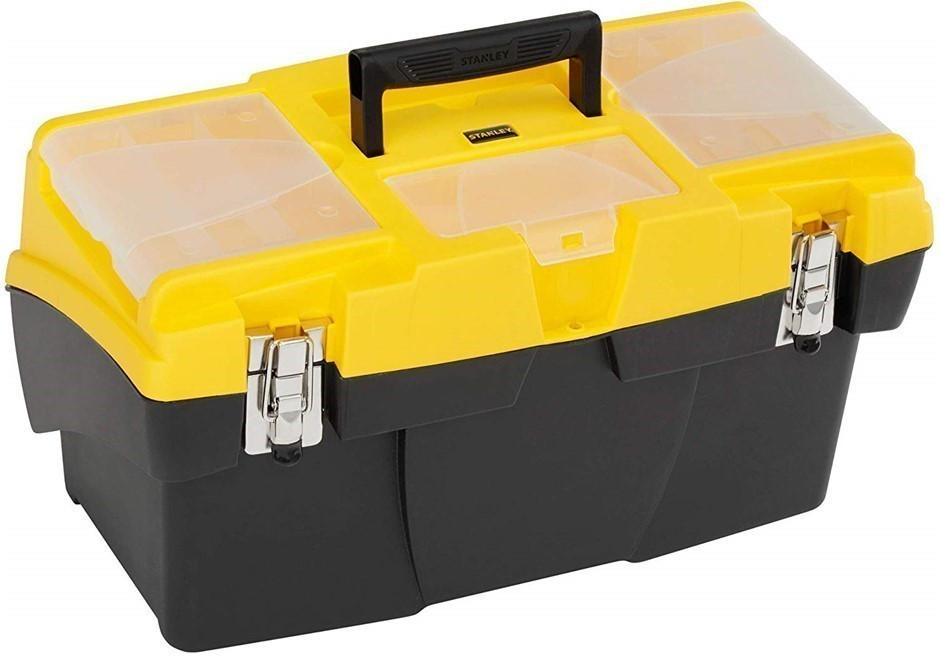STANLEY Jumbo Cantilever Tool Box 49.5cm. (SN:1-92-911) (273144-26)