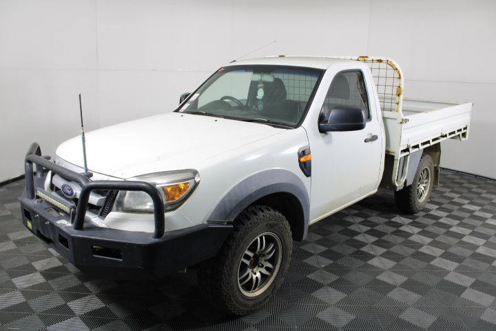 2011 Ford Ranger XL 4WD Turbo Diesel Cab Chassis