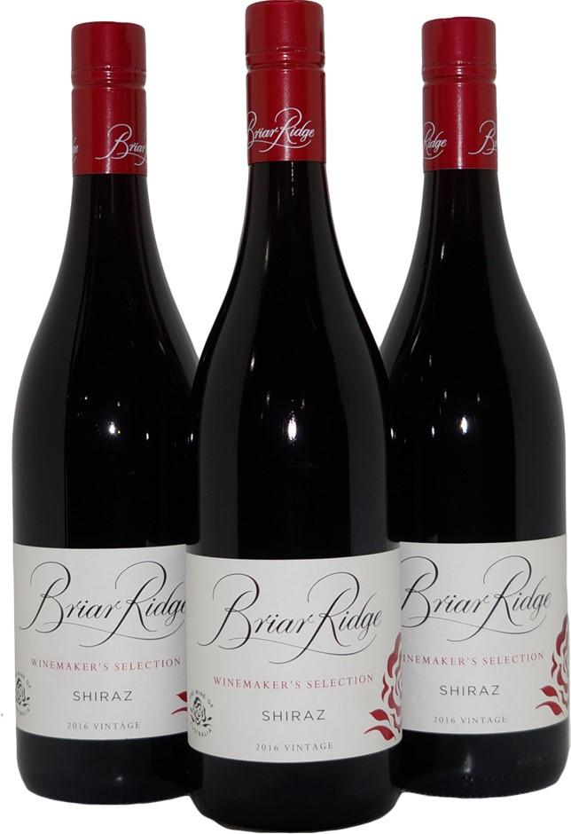 Briar Ridge Winemakers Selection Shiraz 2016 (3x 750mL), Hunter Valley, NSW