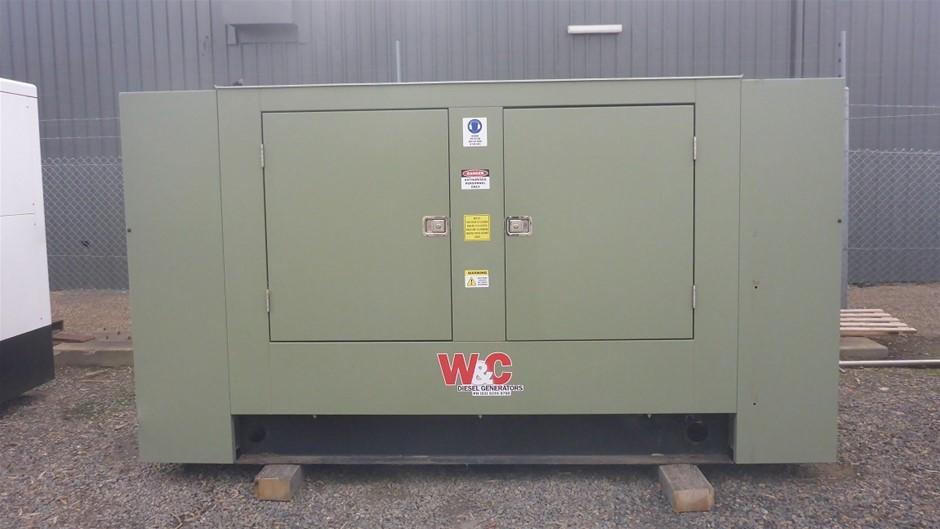 2017 Welling and Crossley 150kVA Diesel Generator