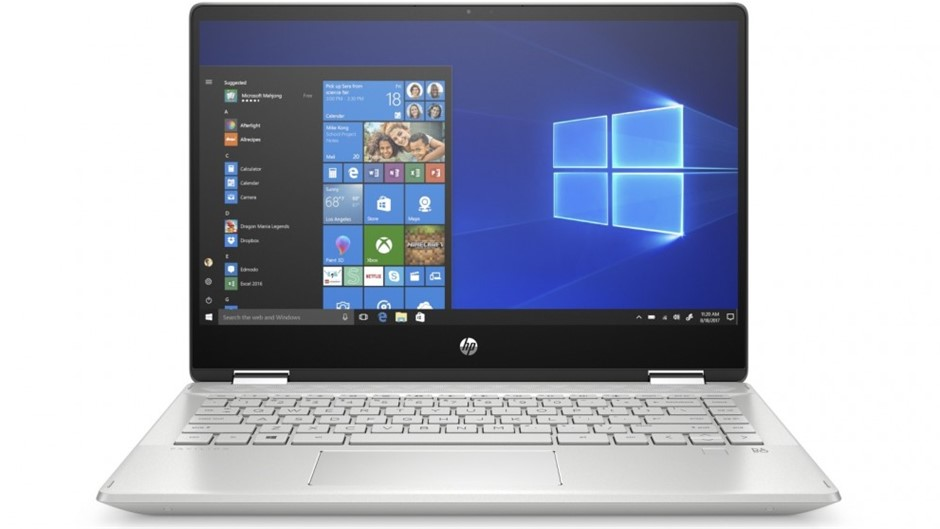 HP Pavillion x360 14-inch Convertible Laptop. Complete with Charger. Featur