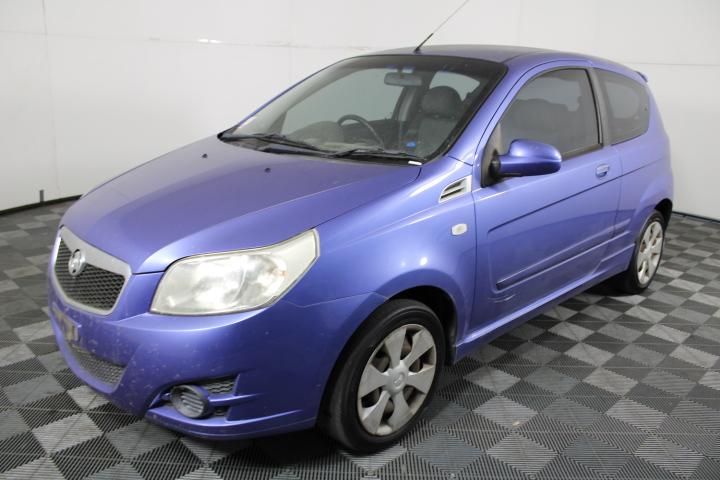 2008 Holden Barina TK Hatchback 123,061km
