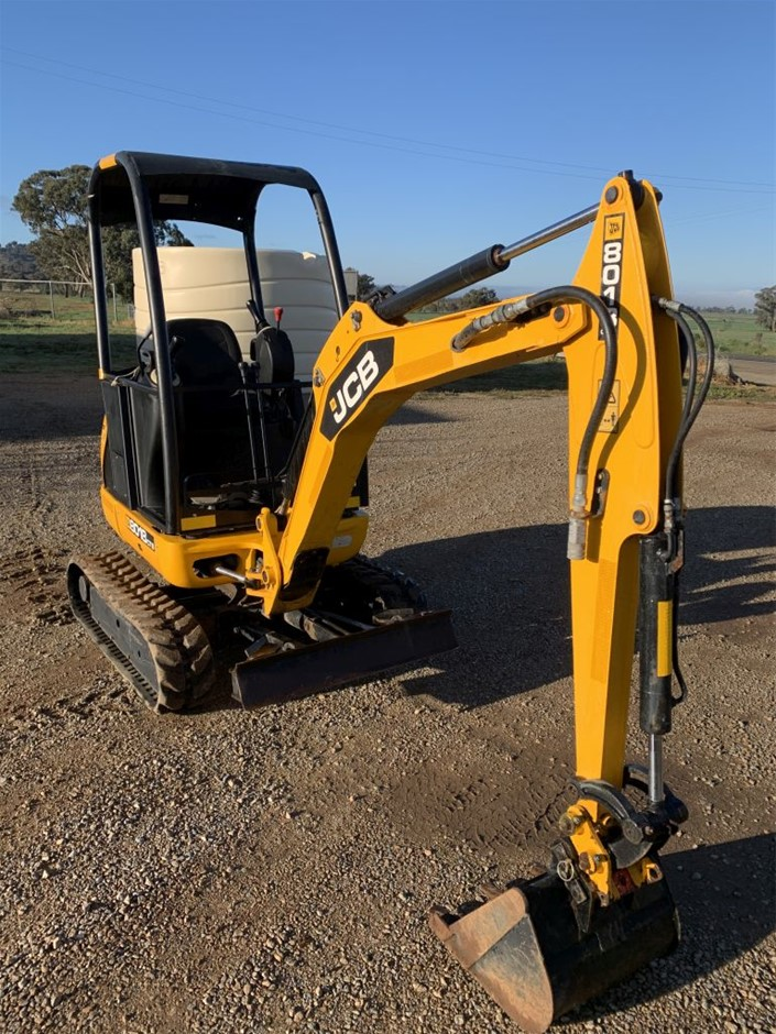 JCB 8018 CTS Tracked Excavator