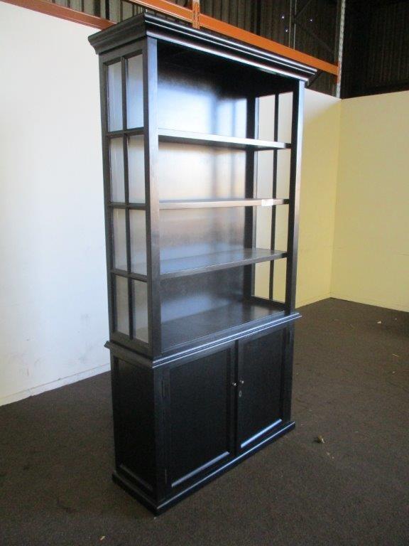 2 Piece Timber Book Case/Display Unit