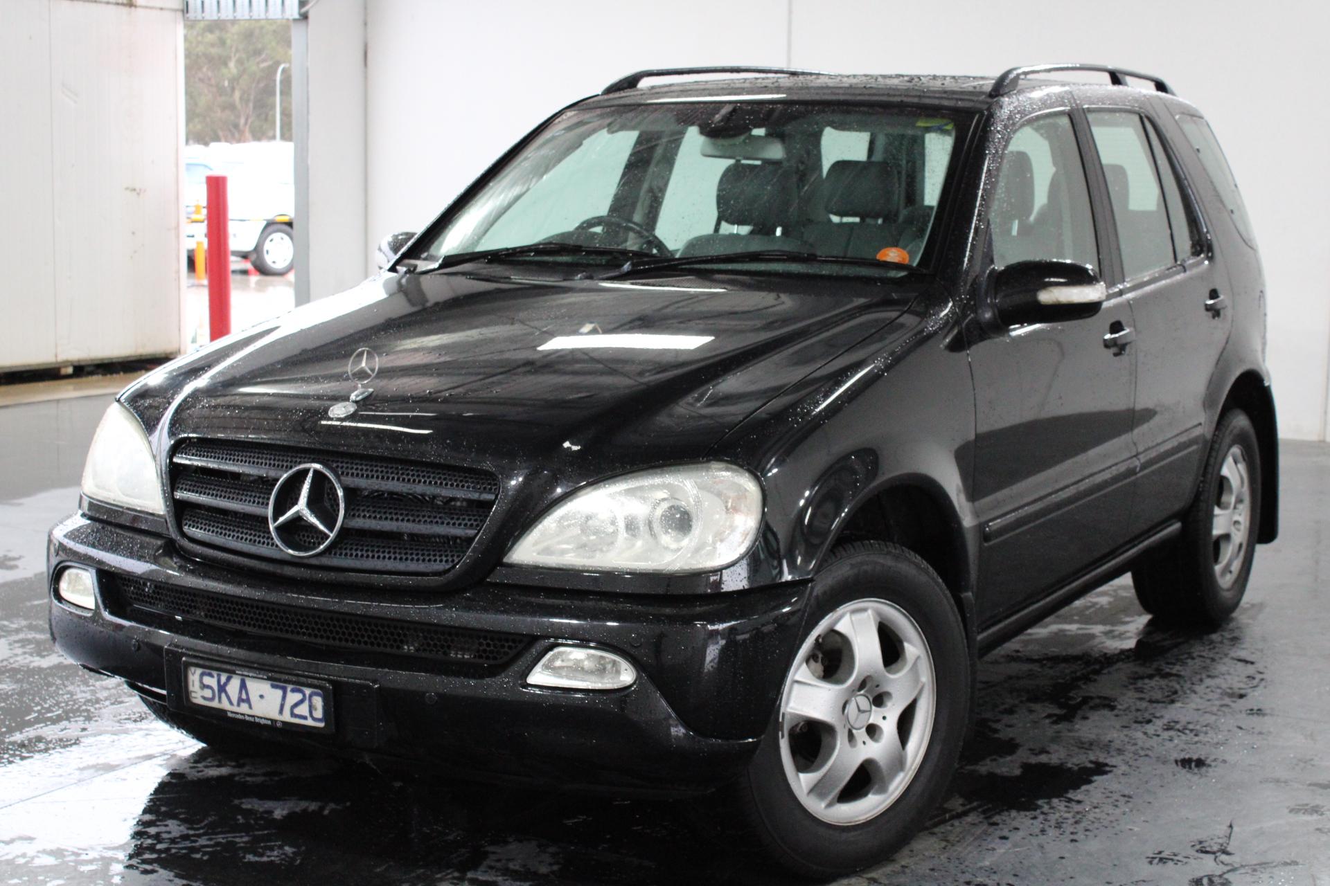 2003 Mercedes Benz ML 350 (4x4) W163 Automatic 7 Seats Wagon