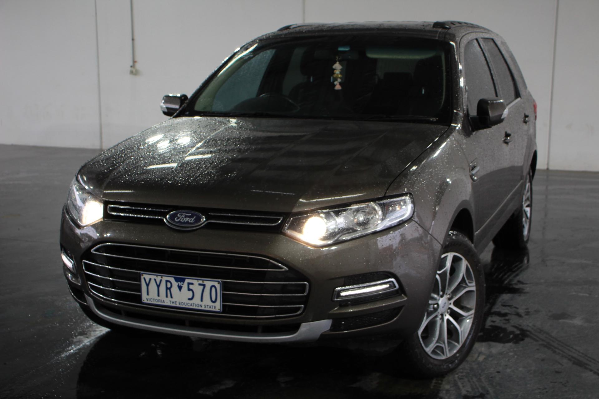 2012 Ford Territory Titanium (RWD) SZ Turbo Diesel Automatic 7 Seats Wagon