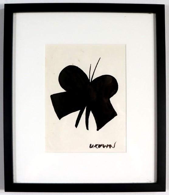 CHARLES BLACKMAN (b.1928-2018) ORIGINAL Artwork, c.1980's 'Butterfly'