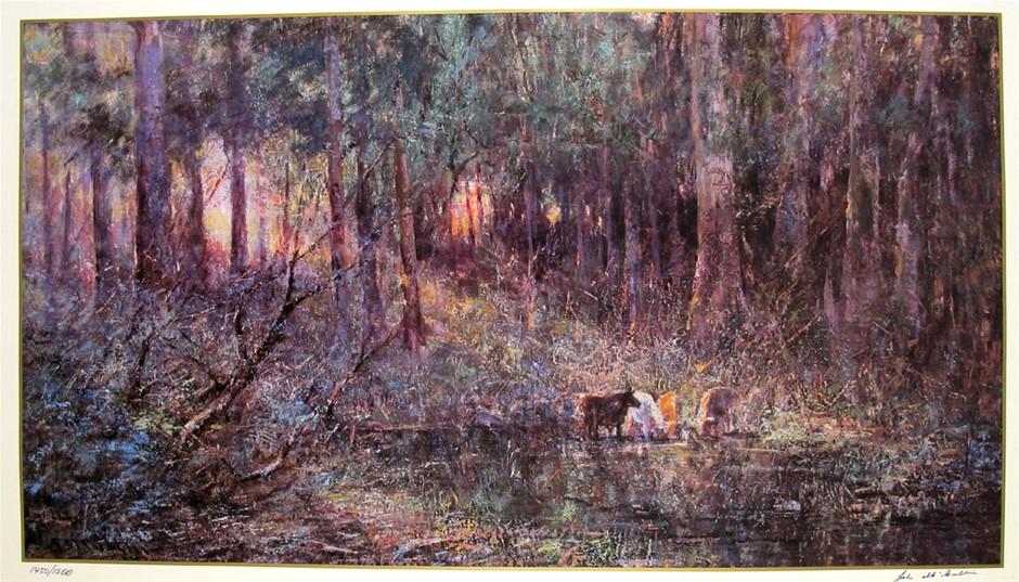 FREDERICK MCCUBBIN (b.1855-1917) LARGE Limited Edition Lithograph