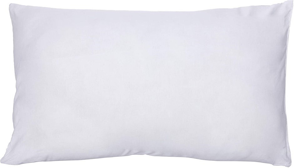 BAMBURY Villa Plus Pillow Cotton Cover, Polyester Fill 74 cm length by 45 c