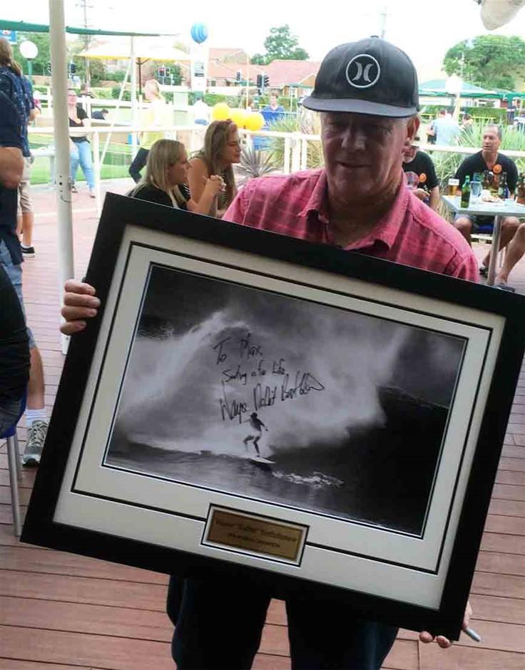 Wayne Rabbit Bartholomew Hand Signed Photo Framed