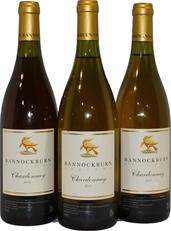 Bannockburn Chardonnay 2000 (3x 750mL), Geelong. Cork