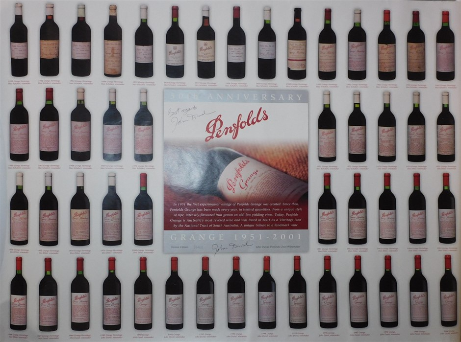 Pack of Assorted Penfolds Wine Posters (6 x Posters)