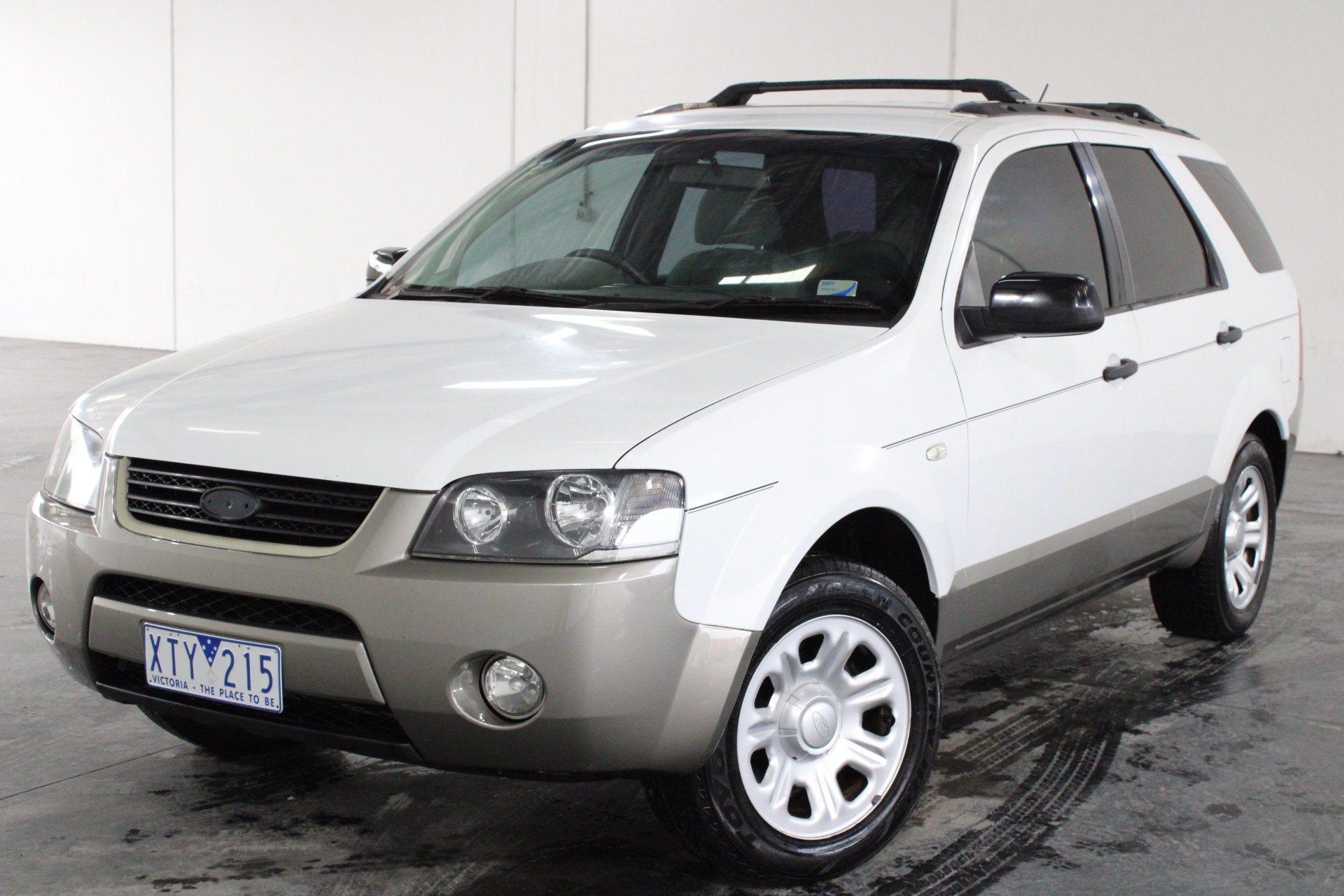 2008 Ford Territory TX (RWD) SY Automatic Wagon