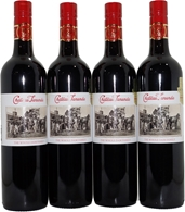 Chateau Tanuda Whole Dam Family GSM Cinsault Carignan 2015 (4x 750mL), SA