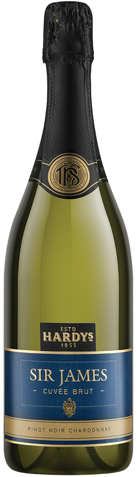 Hardys Sir James Brut de Brut NV (6 x 750mL), SE AUS.