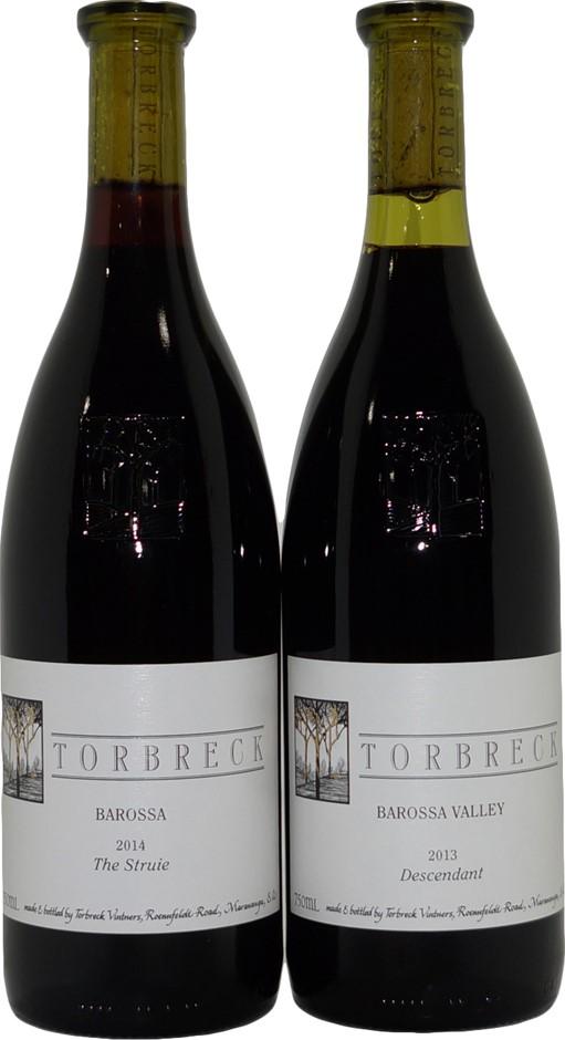 Mixed Pack of Torbreck Barossa Valley Shiraz (2x 750mL), SA. Cork