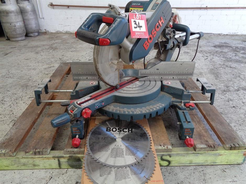 GCM12SD Dual-Bevel Glide Miter Saw - Bosch