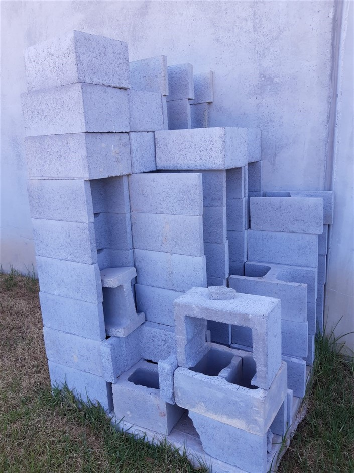 70 H concrete blocks