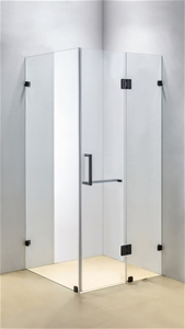 1100 x 1000mm Frameless 10mm Glass Showe