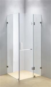 1100 x 700mm Frameless 10mm Glass Shower