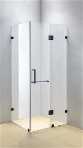 1100 x 800mm Frameless 10mm Glass Shower