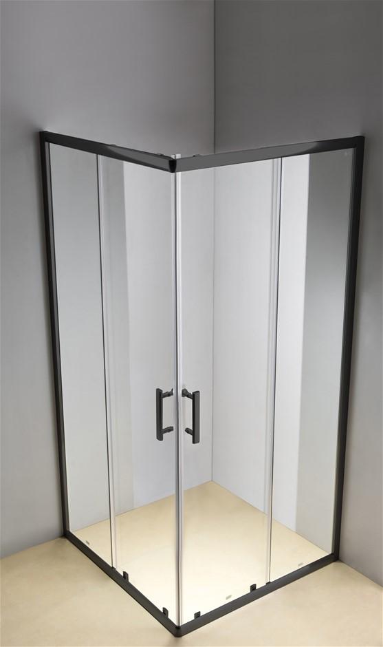 800 x 1200mm Sliding Door Nano Safety Glass Shower Screen Della Francesca