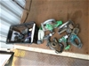 Tub of 7 Cordless Power Tools and 3 Battery Chargers