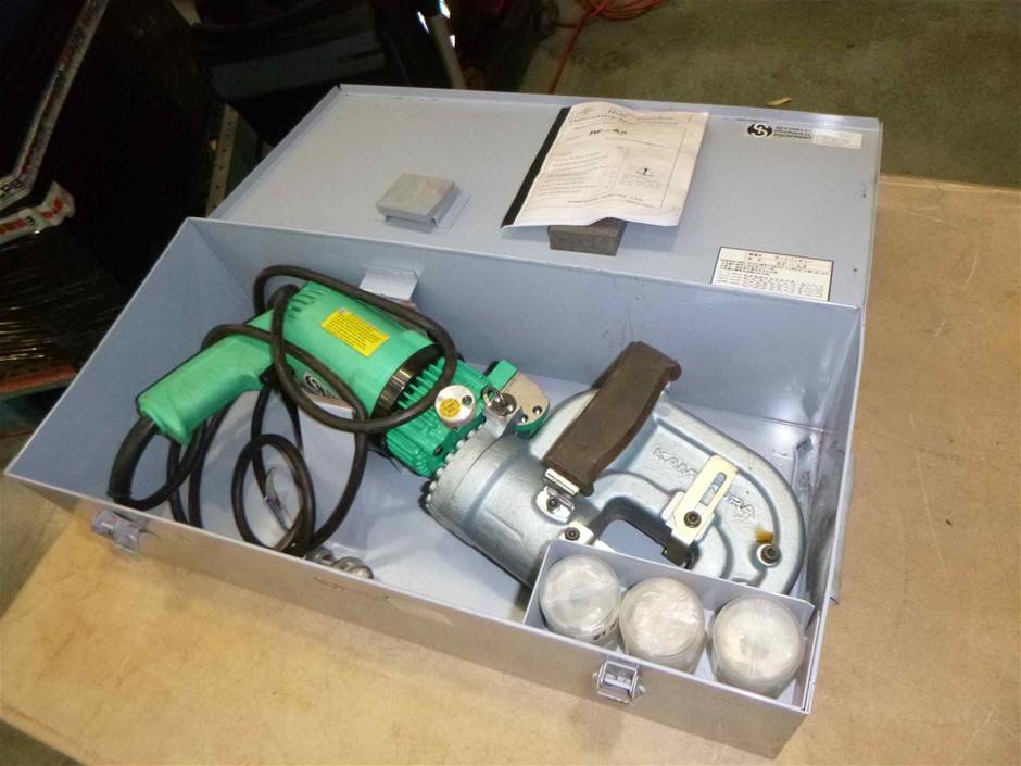 Kamekura Electro/Hydraulic Hole Punch