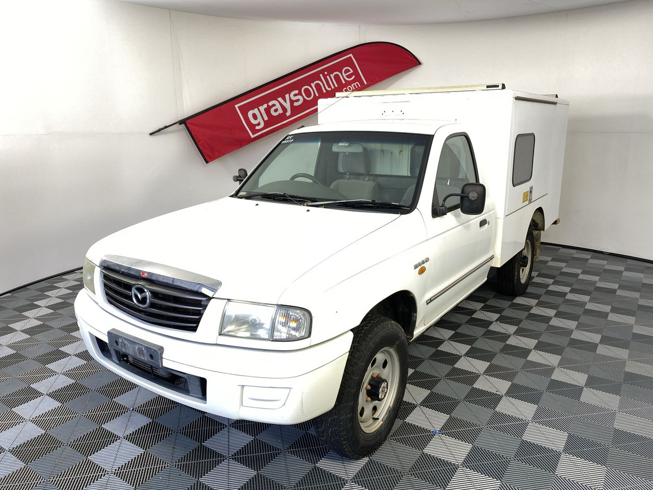 2004 Mazda B2500 Bravo DX (4x4) Turbo Diesel Manual Cab Chassis