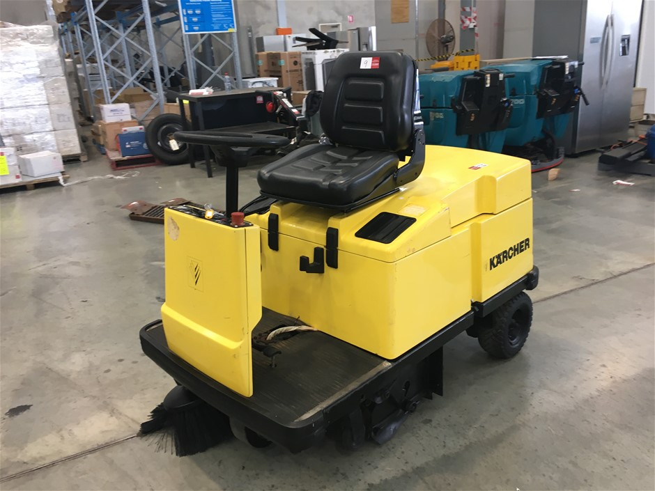 Karcher Ride On Sweeper