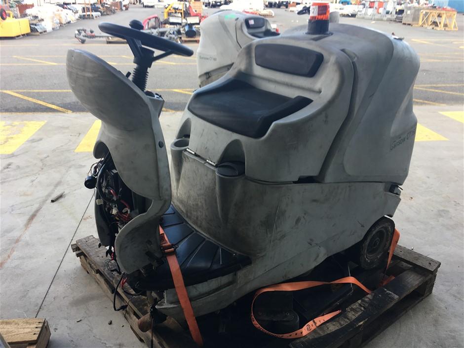 Gansow CT160 Ride On Floor Sweeper