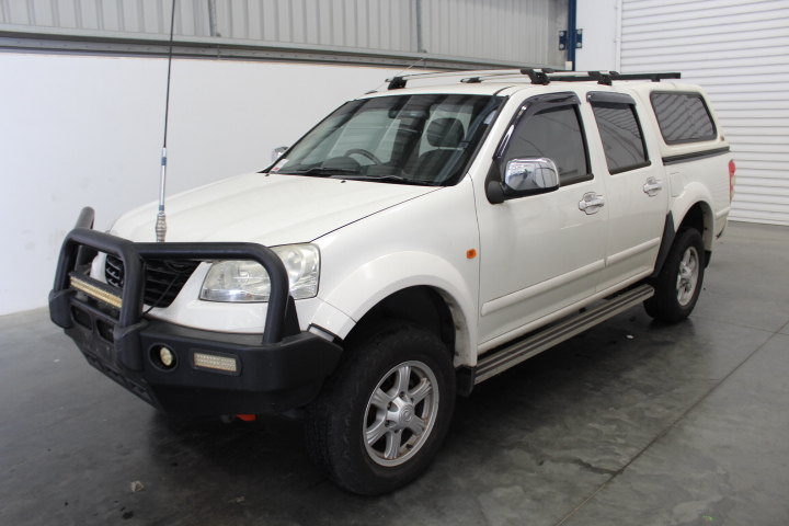 2011 Great Wall V200 Turbo Diesel Dual Cab 90,394km