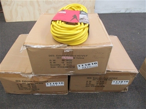 3 Cartons of 30m Extension Leads HD