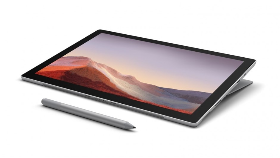 Microsoft Surface Pro 7 12.3-inch i3/4GB/128GB SSD 2 in 1 Device - Platinum
