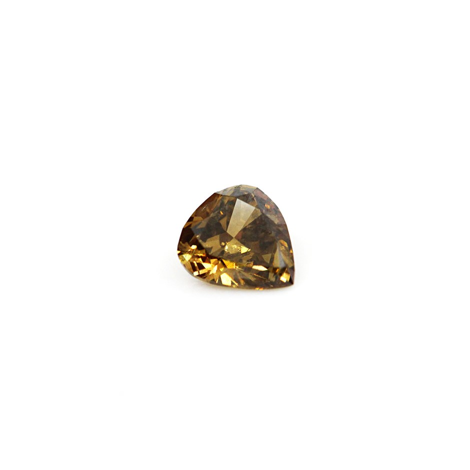 0.21 ct Greenish Brown Diamond