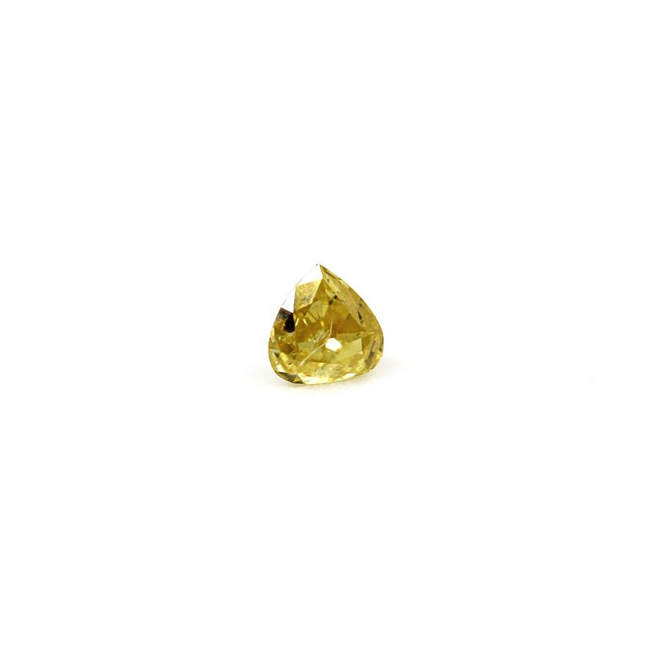 0.11 ct Fancy Yellow Diamond