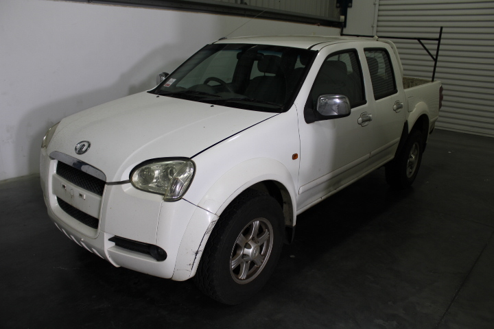 2010 Great Wall V240 Dual Cab, 80,661km