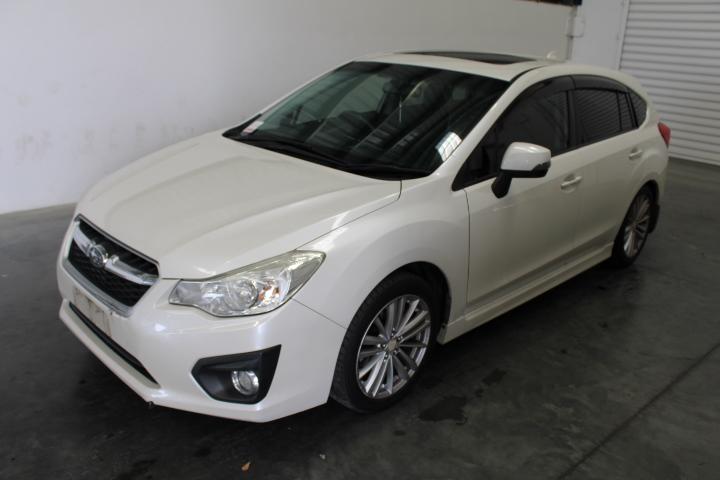 2013 (2014) Subaru Impreza 2.0i-S (AWD) G4 CVT Hatchback 146,845km