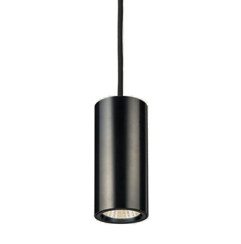HPM Cylla LED Pendant 7W 3000K 560LM Black Cylinder - Model LPD013KBL