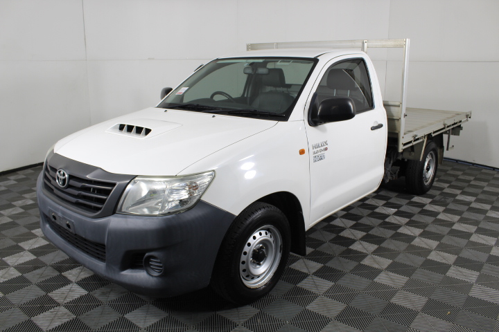 2013 Toyota Hilux Workmate T/Diesel Cab Chassis Ute