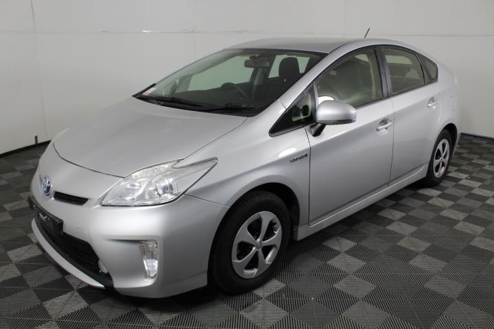 2012 Toyota Prius Hybrid ZVW30R CVT Hatchback (WOVR+Inspected)