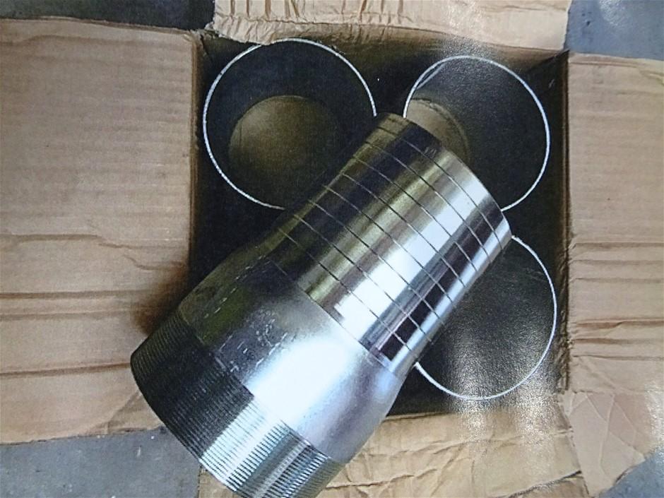 "One Box of qty x 4- 6"" hose x 6"" BSP Galvanised (Pooraka, SA)"