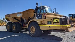 2012 Caterpillar 740B Articulated Dump T