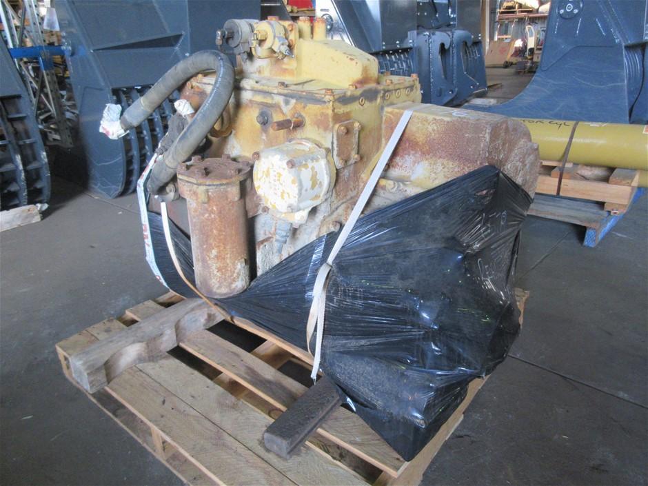 Caterpillar 657B Rear Scraper Transmission