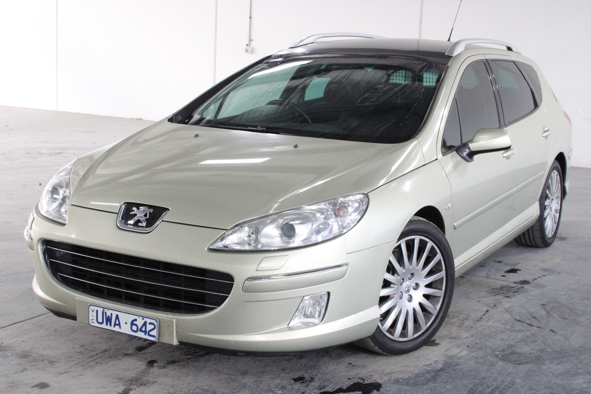 2007 Peugeot 407 SV HDi Touring Turbo Diesel Automatic Wagon