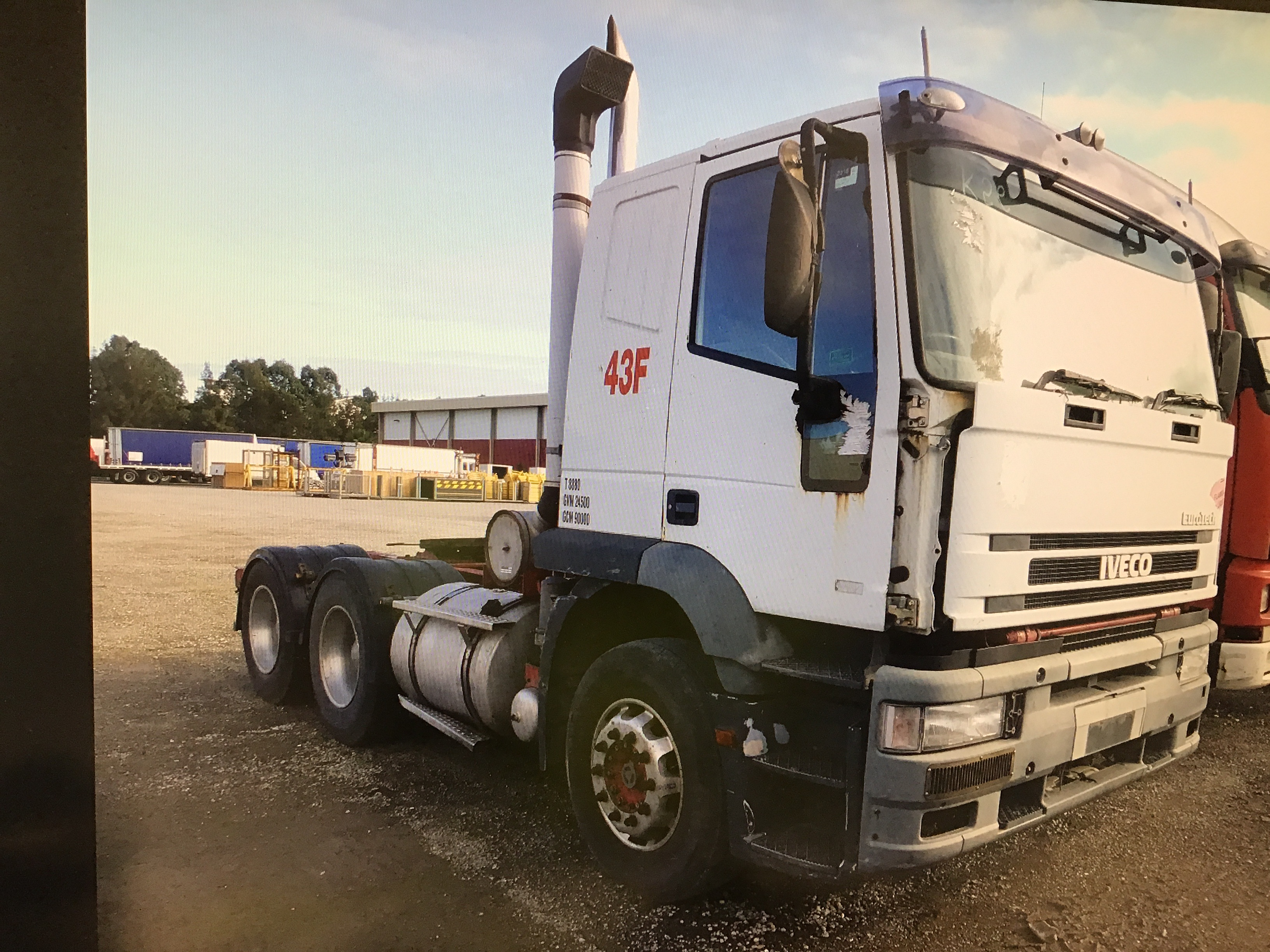 1998 Iveco Eurotech 6 x 4 Prime Mover Truck