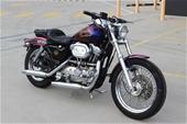 Unreserved 1988 Harley Davidson Sportster XLH1200 2 seater